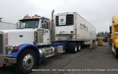 Semi Truck Spill Recovery Saves Local Waterways