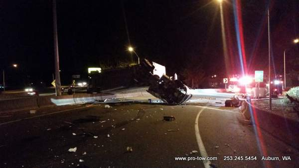 Semi Truck Accident Auburn, WA