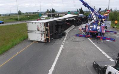 Semi Truck Wreck