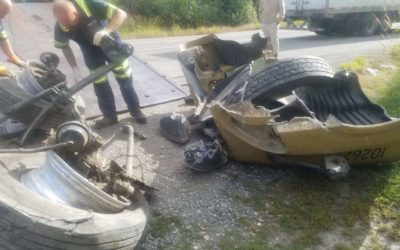 Semi-truck Accident Recovery on Snoqualmie Pass