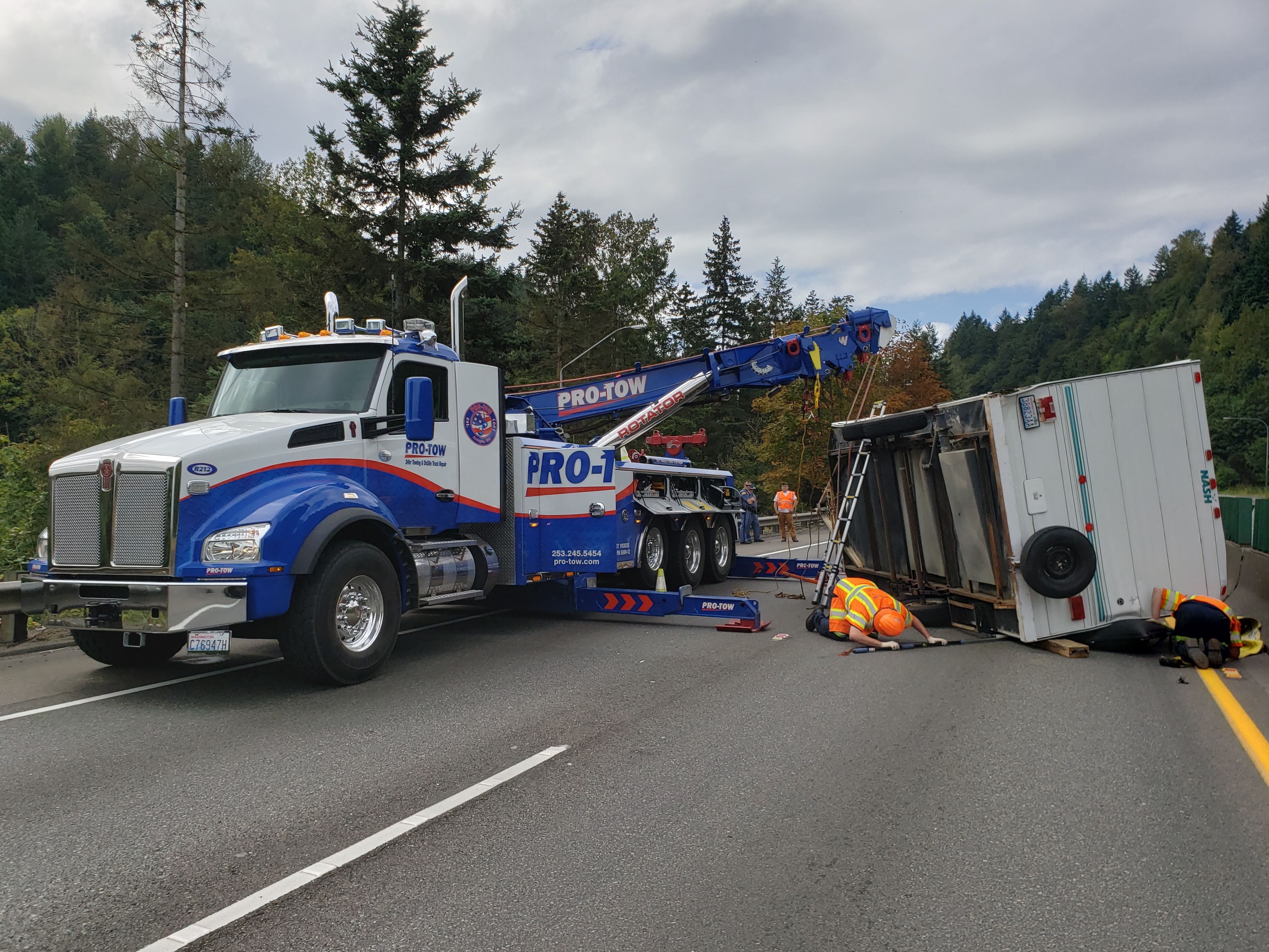 Camping On Peasley Camper Trailer Accident Recovery