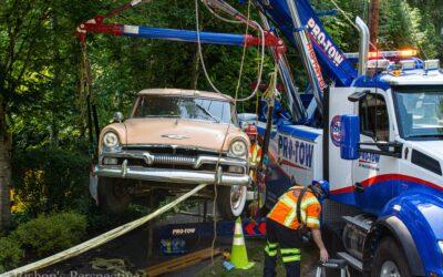 Classic Car Crane Lift Service
