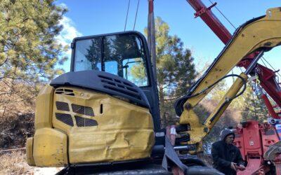 Heavy Equipment Recovery in Spokane